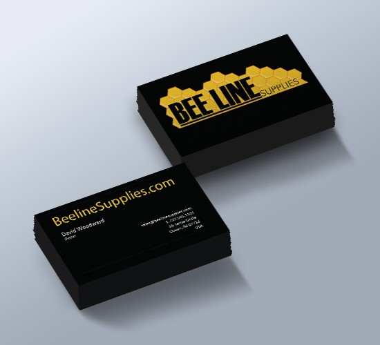 bee line business card